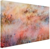 FotoCadeau.nl - Holi festival Canvas 180x120 cm - Foto print op Canvas schilderij (Wanddecoratie)