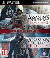 Assassin's Creed IV (4) Black Flag & Assassin's Creed Rogue (Double Pack) /PS3