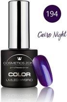 Cosmetics Zone UV/LED Hybrid Gel Nagellak 7ml. Cairo Night 194