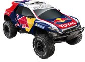 Nikko Red Bull Peugeot 2008 DKR Elite SFX - Bestuurbare Auto