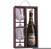 Karmeliet Tripel Cadeaukist - 75 cl + 2 Glazen
