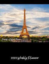 Paris 2020 Weekly Planner