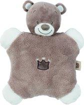 Nattou - knuffeldoek flatsie - Tom de beer