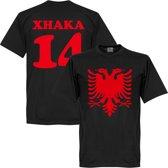 Albanië Adelaar Xhaka T-Shirt - XS