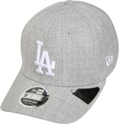 New Era pet heather base 9fifty stretch snap Grijs Gemêleerd-s/m (56-57)