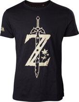 ZELDA BREATH OF THE WILD- T-Shirt Big Z Logo (XL)