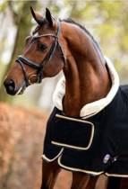 HB Dutch Crown Fleece - Paardendeken - Zwart - 185