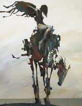 ''A Long Road Home'' by Bruce Holwerda, Blank Comic Book: Letterloom Notelooks: Fine Art Series