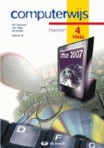Computerwijs handel 4 vista - leerwerkboek (+ cd-rom)
