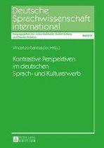 Kontrastive Perspektiven Im Deutschen Sprach- Und Kulturerwerb