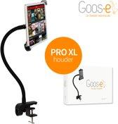 Goos-e flexibele iPad / tablethouder - Startpakket PRO-XL (incl. tafelklem) - Zwart