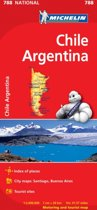 Chile Argentina - Michelin National Map 788