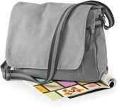 Quadra Vintage Canvas schoudertas Light Grey