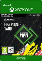 FIFA 20: Ultimate Team - 1.600 Fifa Points - In-Game tegoed - Xbox One