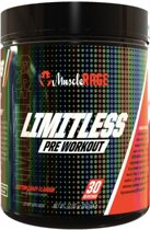 limitless - muscle rage pre workout
