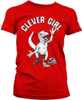 Clever Girl - dames T-shirt rood - S