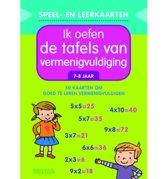Speel- en leerkaarten - Ik oefen de tafels van vermenigvuldiging (7-8 j.)