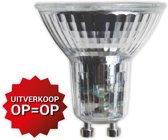 "GU10 GU-10 Led spot lamp 5W 420 lumen ""halogeen look"" 220-240V vanaf Euro 2,49"