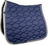 HKM Zadeldekje -Crystal fashion- donkerblauw PVZ