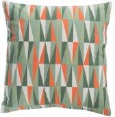 Sierkussen Oranje/Groen 50X50
