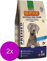 Biofood Geperst Lam&Rijst - Hondenvoer - 2 x 5 kg