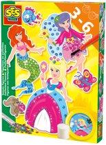 SES paillet prinses figuren maken