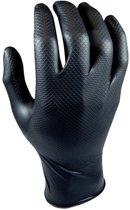 M-Safe 246BK Nitril Grippaz handschoen, zwart, maat XL, doos 50 stuks