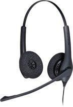 Jabra BIZ 1500 Duo USB Stereofonisch Hoofdband Zwart hoofdtelefoon