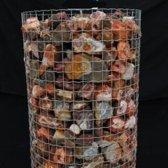 Rode Agaat Ruw - Groothandel Partij Stenen/Stukken van 0,5 tot 4kg - Topkwaliteit - 100KG
