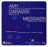Amy / Darasse / Messiaen