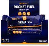 Body & Fit Rocket Fuel Bars - Energiereep - 1 doos (12 repen) - Coconut