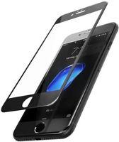 4D Glass Series full Glass Screen Protector Glass Geschikt voor Apple iPhone 7 / 8 - Zwart