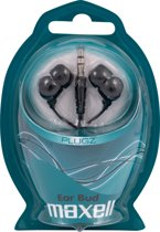 Maxell PLUGZ Intraauraal In-ear Zwart