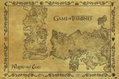 GAME OF THRONES ANTIQUE MAP Maxi Posters (61x91 5)