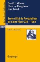 Ecole d'Ete de Probabilites de Saint-Flour XIII, 1983