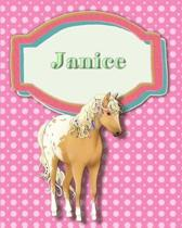 Handwriting and Illustration Story Paper 120 Pages Janice