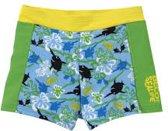 BECO zwembroek - boxer - Sealife - SPF 50+ - blauw/groen - maat 92