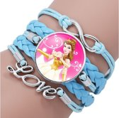 speelgoed armband 2 stuks disney Elsa&belle