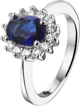 Parte Di Me 925 Sterling Zilveren Ponte Vecchio Ring  (Maat: 17.5) - Zilver