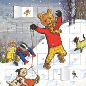 Classic Rupert The Bear Advent Calendar