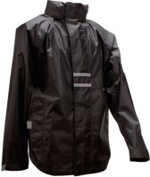 Ralka Regenjas - Volwassenen - Unisex - Zwart - Maat XL