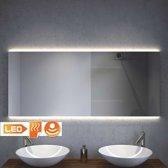 Design badkamer spiegel met indirect strijklicht en verwarming 140×60 cm