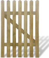 vidaXL Tuinpoort 100x150 cm FSC hout