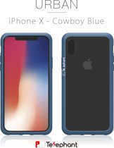 Iphone X telfoonhoesje, Anti-shock proof Technology with Air Steel, Anti-G force, Dynamic Defense System, Medical Grade Silicone bumper Case