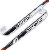 Brabo HockeystickVolwassenen - wit/ zwart