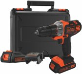 BLACK+DECKER - 18V Multievo™ Schroefboormachine - Met Lithium Ion accu