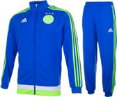 adidas Ajax Trainingspak 2015/2016 Heren - Blauw/Lime