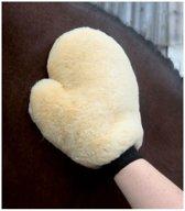 Handschoen Lamsvacht Beige