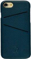 imoshion leren backcase 2 pashouder iphone 7 8 blauw