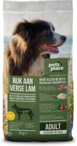 Pets Place Naturals Adult Small Breed - Hondenvoer - Lam - 3 kg